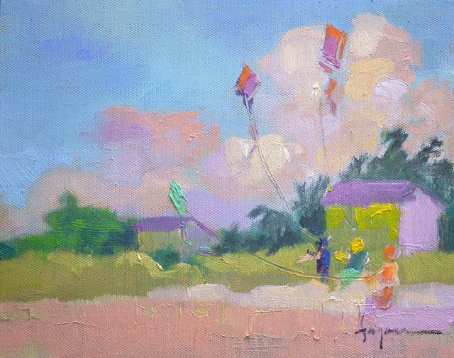FAGANworldona-String---World-on-a-String,-plein-air-oil-on-canvas,-prints-available.jpg