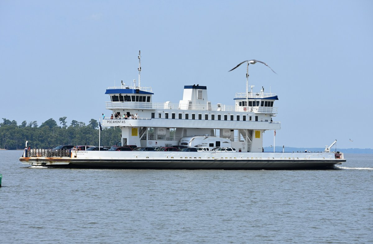 Virginia's Free Car Ferries -- Take Your Car for a Ride